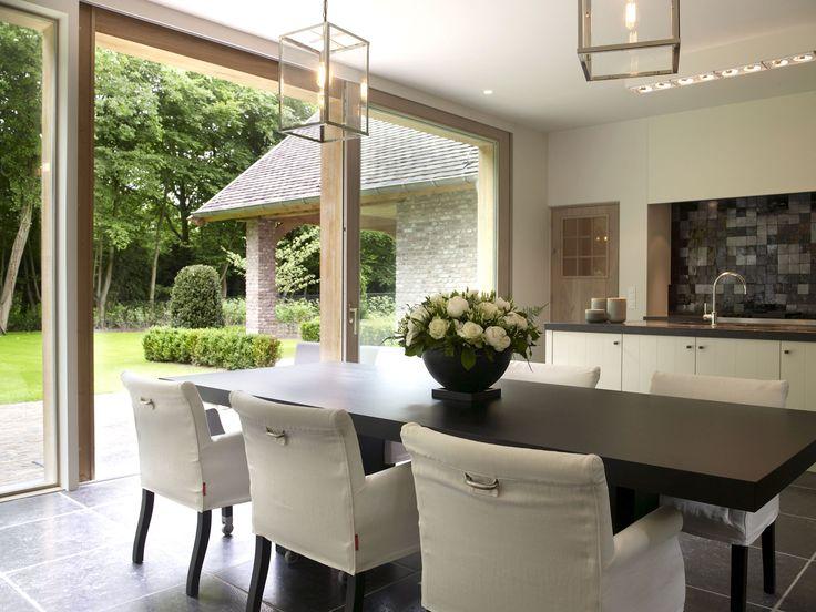 25 beste idee n over landelijke stijl huizen op pinterest for Moderne villabouw