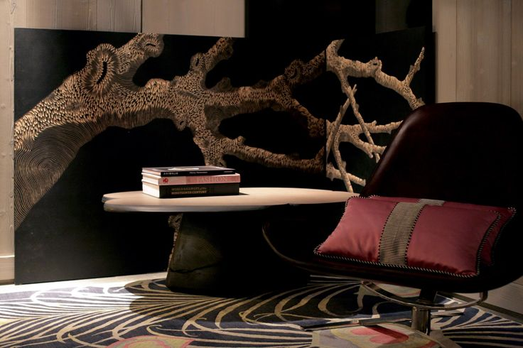"""""""The eclecticism of tones and materials plunges the guests of the hotel in a harmonious and refined atmosphere in harmony with nature."""" The Sivoliere by Tristan Auer"""