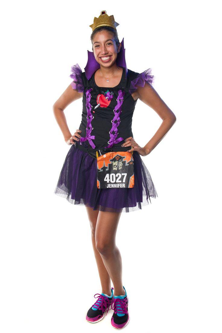 Disney Villain Running Costume Ideas- Evil Queen • Half ... |Disney Running Costumes Ideas Women