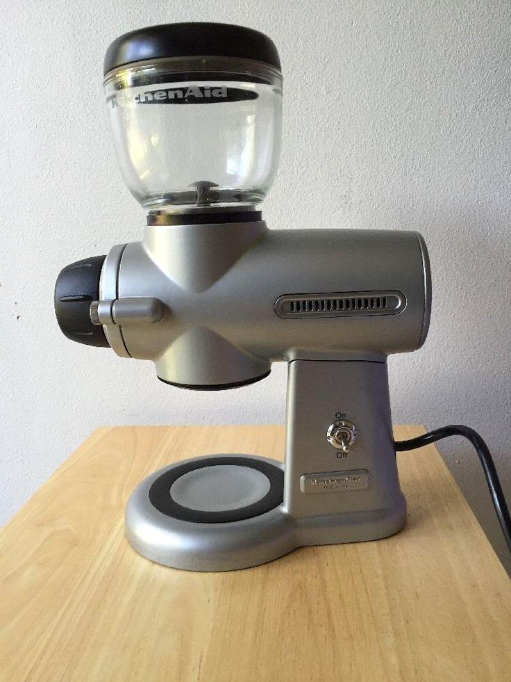 Kitchen aid pro line burr coffee grinder mill kitchenaid