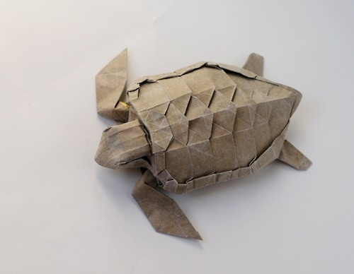 origami loggerhead...next time I have 8 hours to kill, maybe I will attempt this...