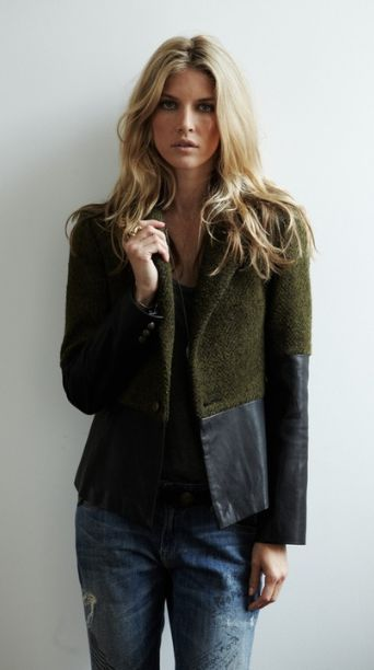 jacket redesign inspiration.  Especially with a great rummage find