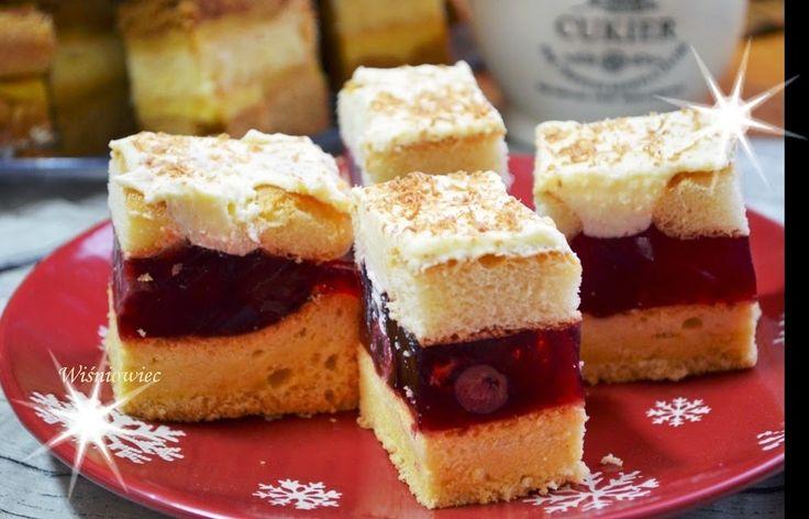 Smak, zapach, kolor, tradycja z nutką nowoczesności...: Wiśniowiec - łatwe ciasto z wiśniami