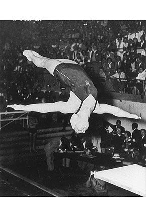 Pat McCormick won a total number of four gold medals by winning both diving events at two consecutive Summer Olympics (1952 and 1956).