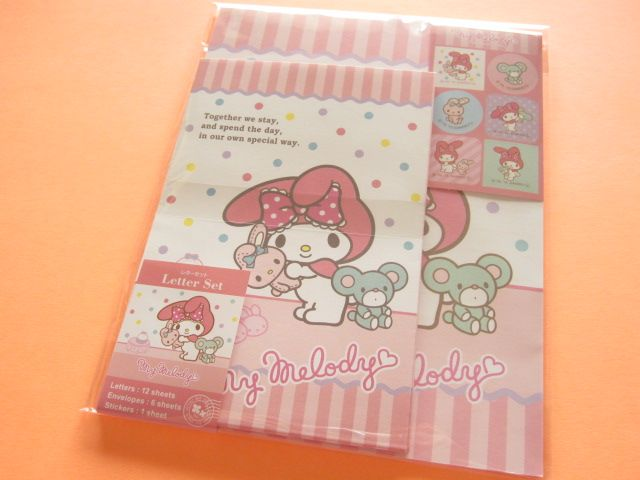 kawaii cute letter set sanrio japan exclusive my melody pipi popo kawaii shop