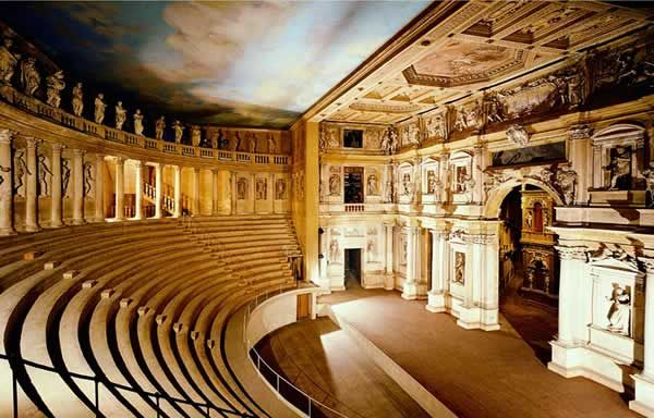 Teatro Olimpico Vicenza, Italy I graduate here it is the oldest coliseum in the world.