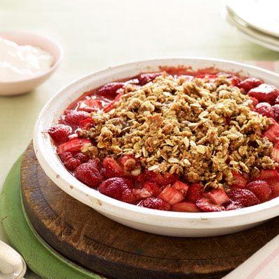 Healthy Makeover: Strawberry-Rhubarb Pie   Recipe   Good ...