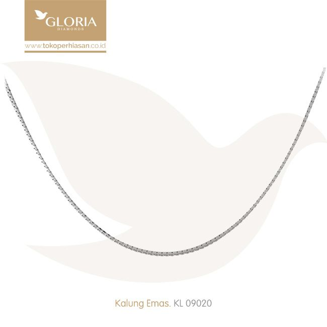 Kalung Emas Putih Model Italy Santa. #goldnecklace #necklace #goldstuff #gold #goldjewelry #jewelry #perhiasanemas #kalungemas #tokoperhiasan #tokoemas