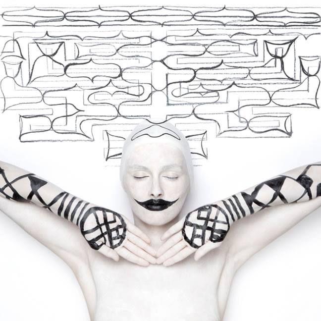 works by Romanian duo Swarte: Corina Olaru and Manuela Vulpescu