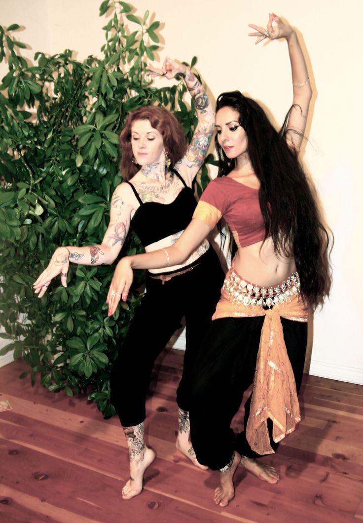 Dancers Emily & Tejas