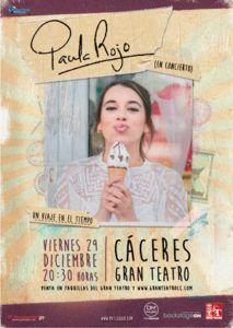 Paula Rojo presenta su nuevo disco en Cáceres