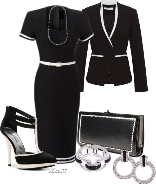 """""""A Study in Contrast"""" by christa72 on Polyvore"""