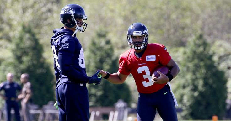 A slimmer Russell Wilson thinks Jimmy Graham is poised for a big season