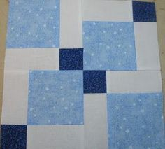 Neighborhood Quilt Club: 3 Color Disappearing Nine Patch Tutorial