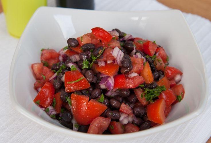 #salad #salsa #beans #summer #dip #sidedish
