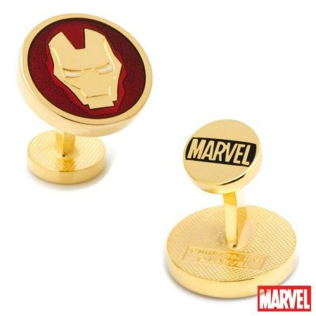 Officially licensed Iron Man Cufflinks by Marvel.Available only at CUFFZ.com.au