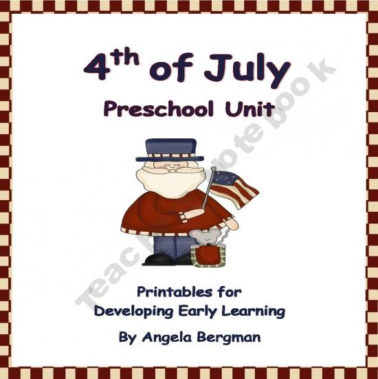 4th of july daycare projects