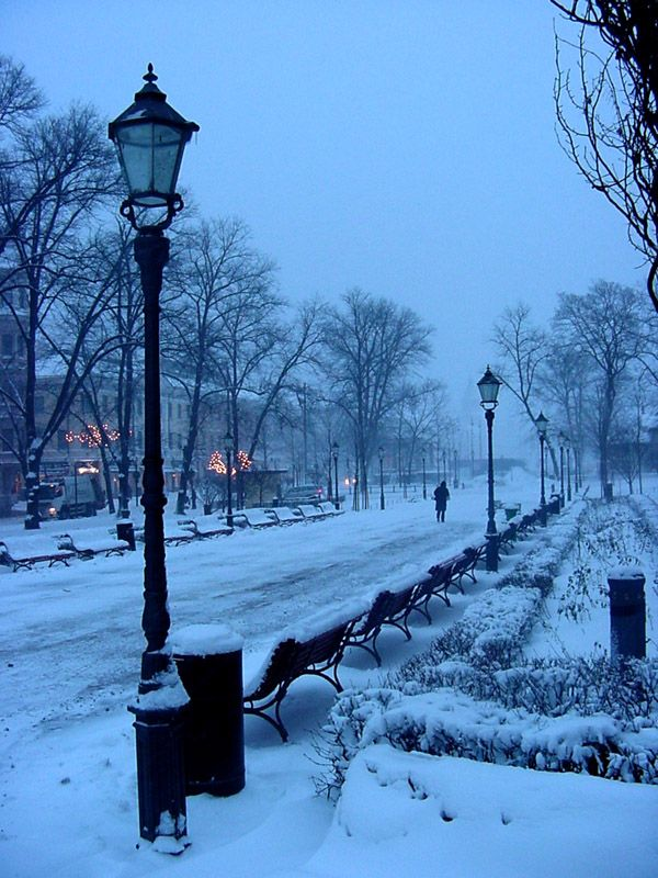 Esplanadi park, Helsinki, Finland