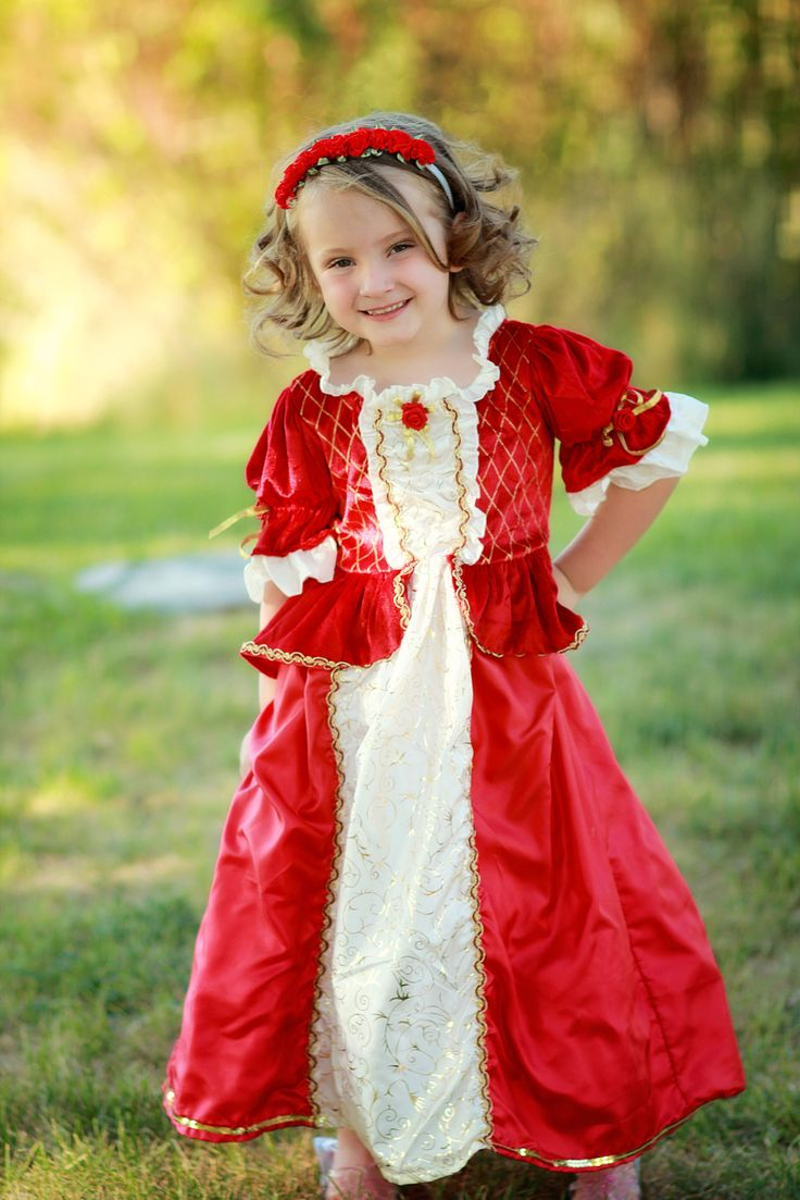 Winter Belle Dress Up Costume | Red Winter Belle Dress