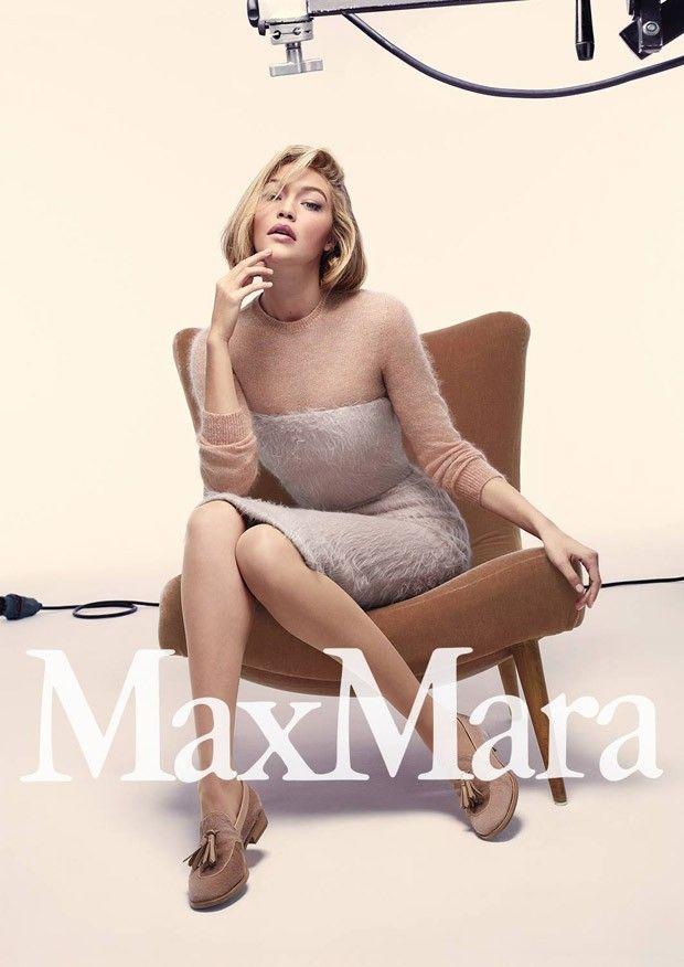 Max Mara Fall Winter 2015.16 Campaign | Gigi Hadid | Anthony Maule