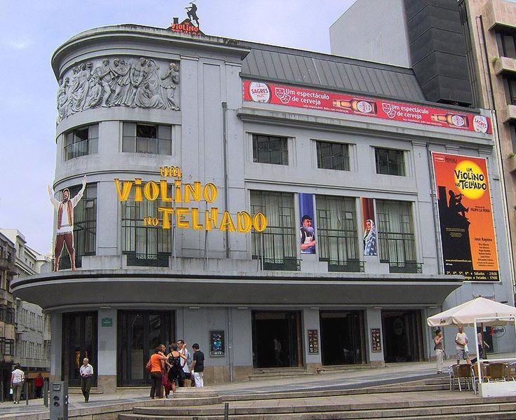 Teatro Rivoli-Porto!  #Portugal