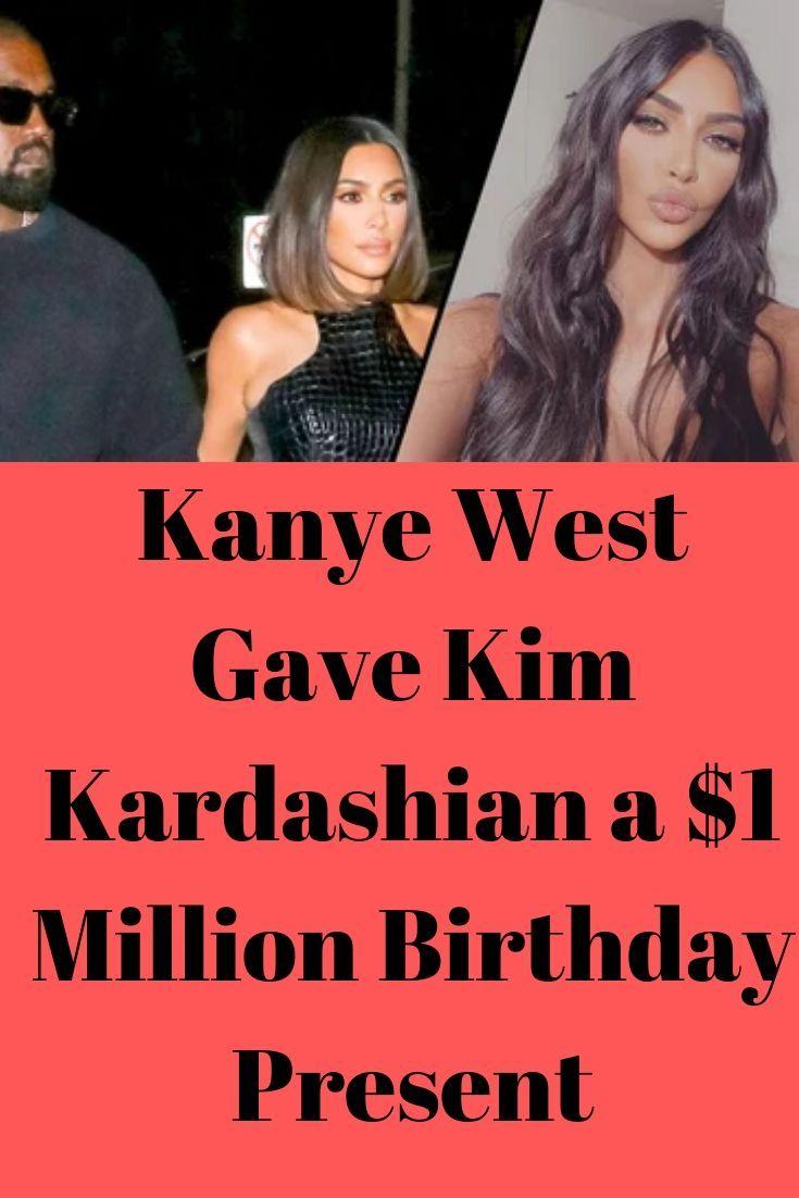Kanye West Gave Kim Kardashian A 1 Million Birthday Present Gossip Girl Memes Gossip Girl Funny Kardashian