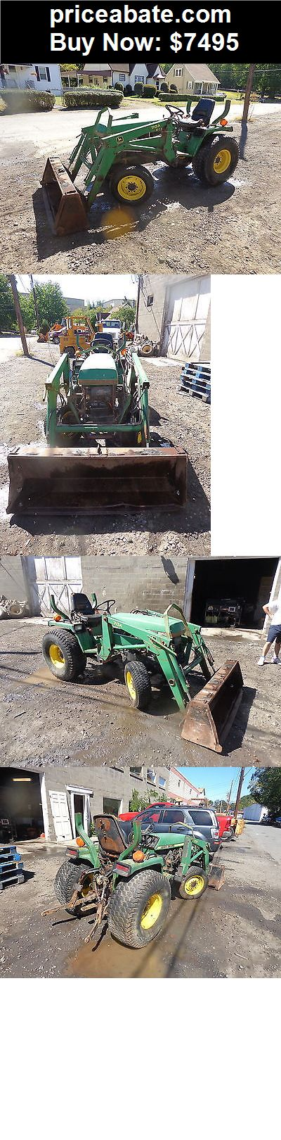 Heavy-Equipments: John Deere 955 Compact Utility Tractor w/ 70A Loader NICE! RUNS EXC VIDEO! - BUY IT NOW ONLY $7495