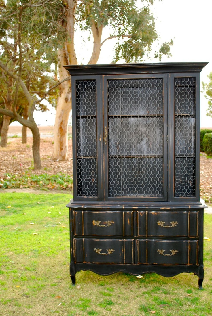 110 best Painted - China Hutch and Buffet images on Pinterest ...