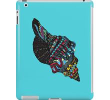 iPad Case/Skin#seashell #seashelldesign #macsnapshot28 #macsnapshot #decoration #clothes #mollusk #redbubble #colourfulshell