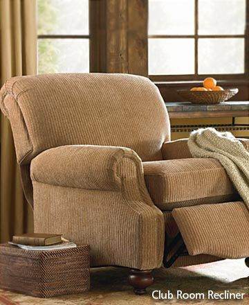 I want a recliner that does not look like a recliner - this would work.