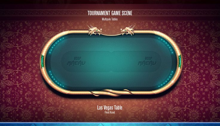 WSOP - Tournaments Design on Behance