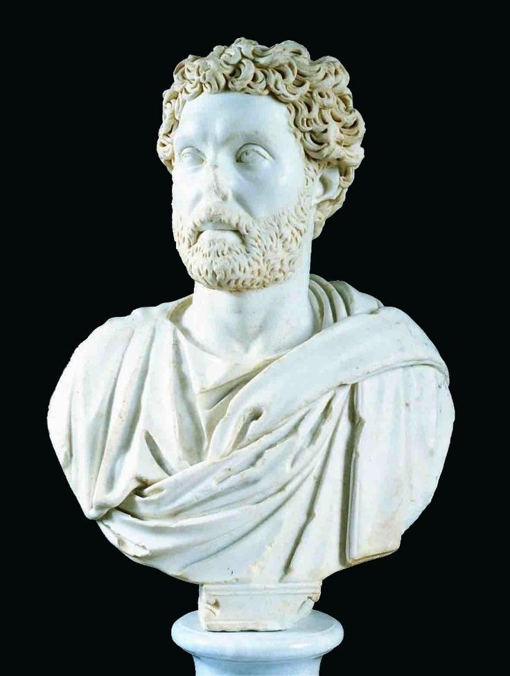Busto romano de Becerril de Campos, s. II d.C. Museo de Palencia