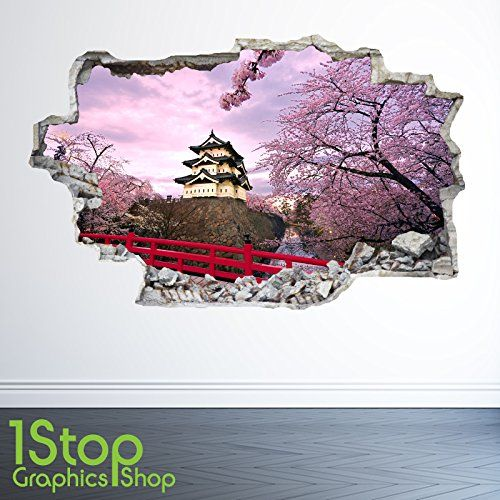 1Stop Graphics Shop CHINESE TEMPLE WALL STICKER 3D LOOK - BEDROOM LOUNGE ANCIENT CITY WALL DECAL Z27 Size: Medium This high definition image made of tough high-grade vinyl thats tear and fade resistant, so you can be assured your eye catching wall sticker will stay strong *Images are not to scale so please rever http://www.comparestoreprices.co.uk/december-2016-3/1stop-graphics-shop-chinese-temple-wall-sticker-3d-look--bedroom-lounge-ancient-city-wall-decal-z27-size-medium.asp