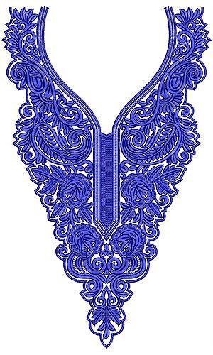 Indo Western Salwar Kameez | Embroidery Design