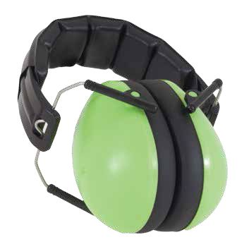 Luscious 'Lime' Protective Earmuffs from Baby Banz NZ; suit 2-10+ years; $44.50.