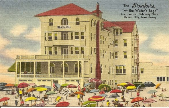 97 best images about vintage ocean city nj postcards and - Public swimming pools in rehoboth beach ...