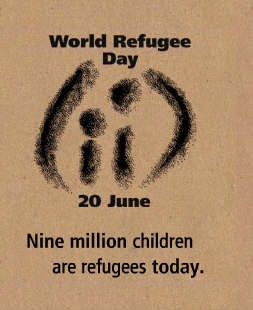 June 20th- World Refugee Day  Via @Becky Hui Chan Nielson Nations Development Programme (UNDP)