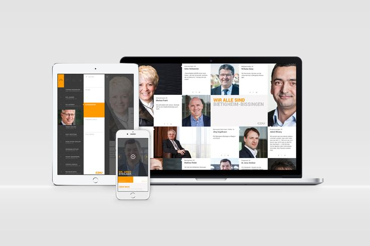 CDU Bietigheim-Bissingen — Südsolutions    campaign, politics, Digital, Website, Responsive Design, CDU, Responsive Design, Apps, Web,