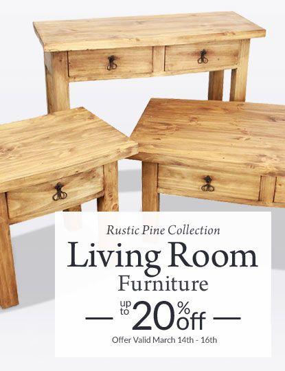 71 Best Rustic Pine Furniture Living Room Images On Pinterest