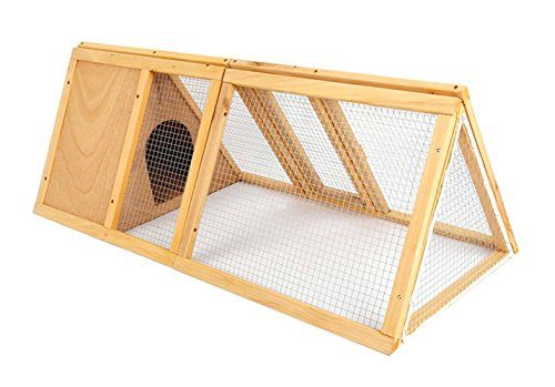 Rabbit Hutch Bunny Wooden House Cage Chicken Coop Poultry House Backyard Garden Cage - http://www.bunnybits.org/rabbit-hutch-bunny-wooden-house-cage-chicken-coop-poultry-house-backyard-garden-cage/