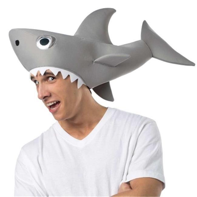 Morriscostumes Gc3690 Sharknado Man Eating Shark Sombreros De Animales Sombrero De Tiburón Sombreros Divertidos