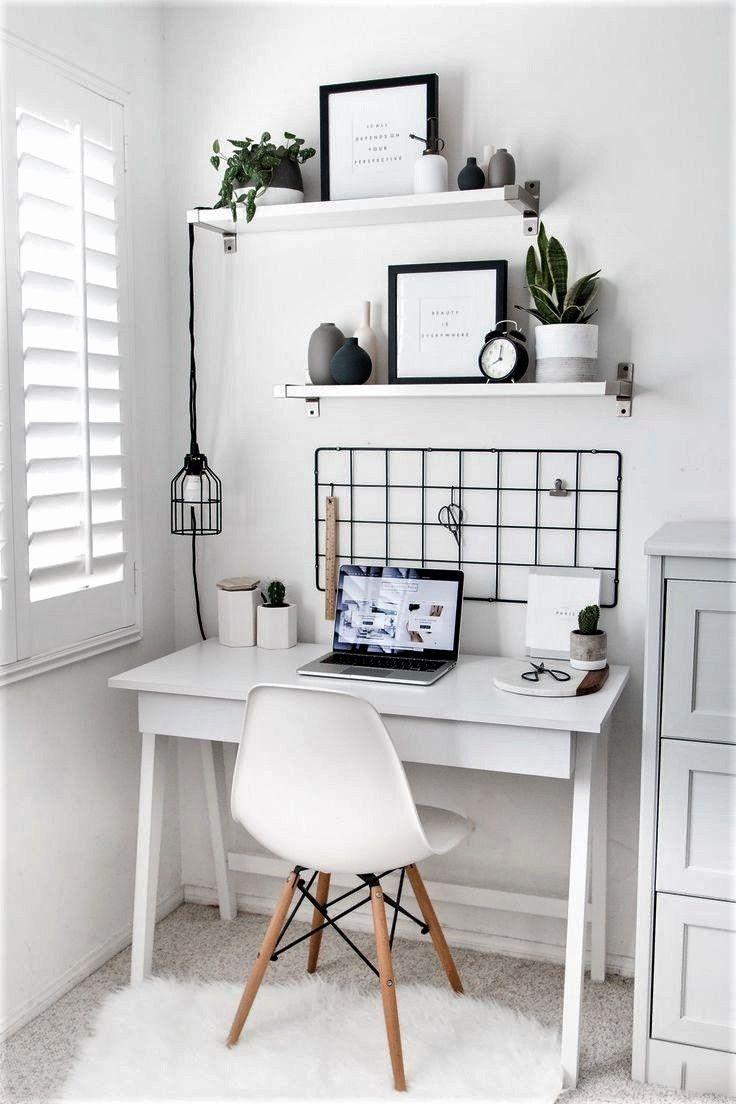Desks For Your Bedroom Best Of Cute Desk Area For A Bedroom In 2020 Simple Bedroom Decor Cute Desk Decor Minimalist Home Decor