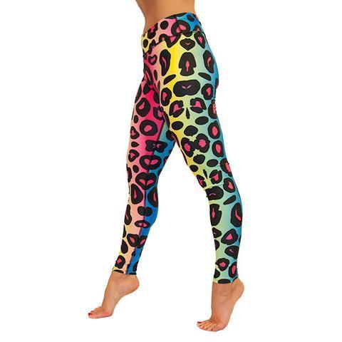 Tikiboo Rainbow Leopard Leggings £33.99