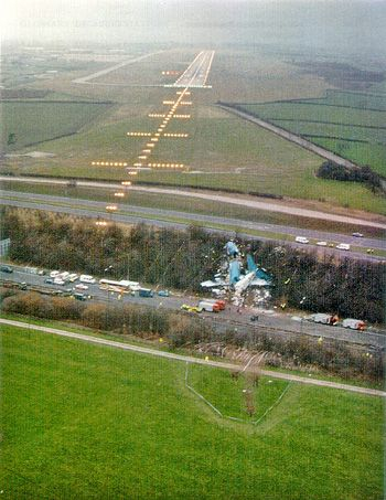 air disasters | File:Kegworth Air Crash Scene.jpg