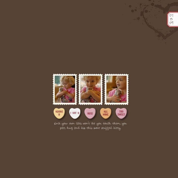 sweet kitty - Digital Scrapbooking Ideas - DesignerDigitals