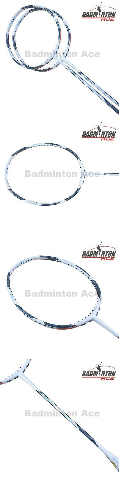 Badminton 106460: 2 X Apacs Z Ziggler White Badminton Rackets Free String And Grip -> BUY IT NOW ONLY: $71.18 on eBay!