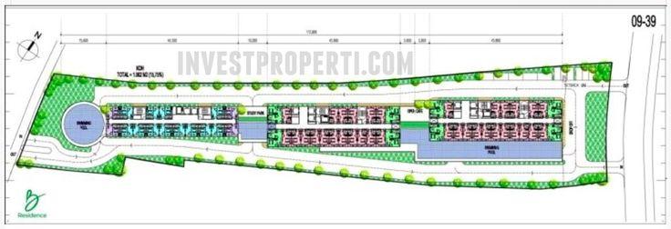 Floor Plan B-Residence Apartemen BSD