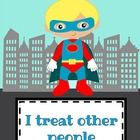 Superhero rules for the classroom!  I have just redone the original set of rules that I posted. However, in this file, I have included the original ...