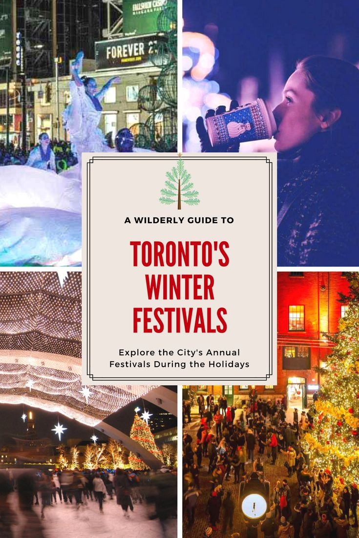 A guide to Toronto's winter festivals - things you can do in Toronto during the winter.