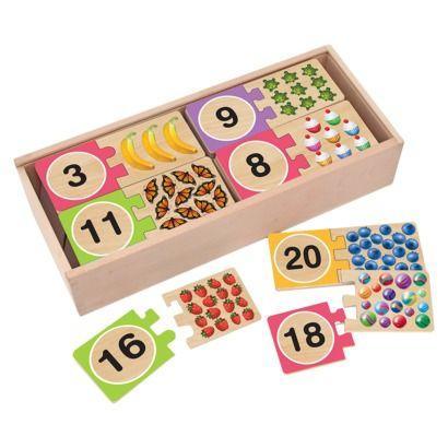 Melissa & Doug Number Puzzles